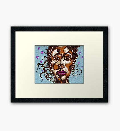 Alive and Strong Framed Print