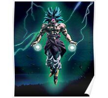 Broly legendary super saiyan Poster
