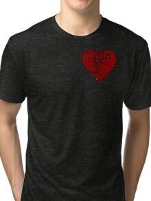 How to mend a broken heart: The Punk Way Tri-blend T-Shirt