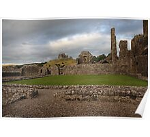 Hore Abbey and The Rock of Cashel Poster