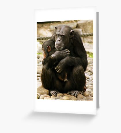 Primal Love Greeting Card