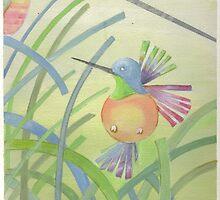 Hummingbird by serpinga