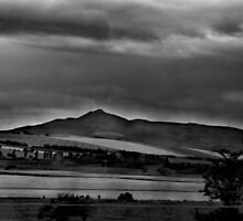 Bennachie waiting for the storm by Suzanne Forbes-Murray