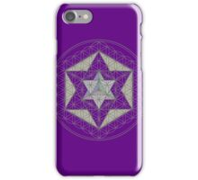 Flower of Life, Vector Equilibrium, Merkaba   iPhone Case/Skin