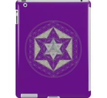 Flower of Life, Vector Equilibrium, Merkaba   iPad Case/Skin