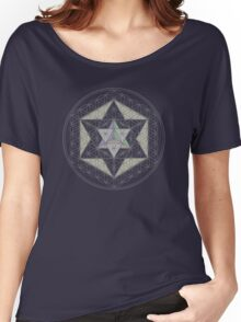 Flower of Life, Vector Equilibrium, Merkaba   Women's Relaxed Fit T-Shirt