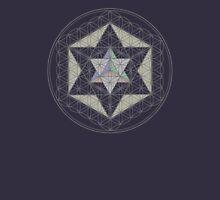 Flower of Life, Vector Equilibrium, Merkaba   Unisex T-Shirt