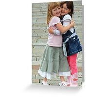 Claire and Abbie Greeting Card