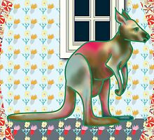 Roo Window by suitgraphic