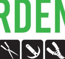 Gardener Sticker