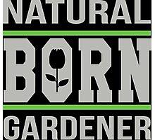 Natural born gardener Photographic Print