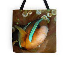 Aggresive Anemone Fish Tote Bag