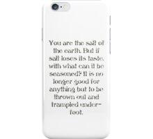 Salt of the Earth iPhone Case/Skin