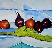 CELERY AND ONIONS by ANNETTE HAGGER
