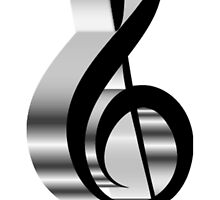 grey  clef  by Peany