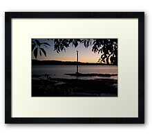 A Different Viewpoint Framed Print