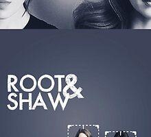 Shaw x Root by LaraCroftiing