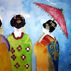GEISHA GIRLS by ANNETTE HAGGER