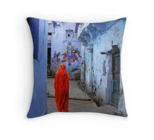 THE COLORS OF RAJASTHAN 2 Throw Pillow