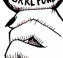 Grrl Power Sticker