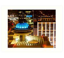 The Future Is Today - Atlanta Peachtree Street Skyline Art Print