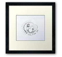 P.S. I Love You -V Framed Print