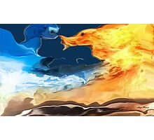 Crazy weather- Abstract-design products Photographic Print