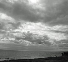 Dramatic clouds over Cornwall by vanorange