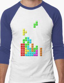 #1 TETRIS FAN Men's Baseball ¾ T-Shirt