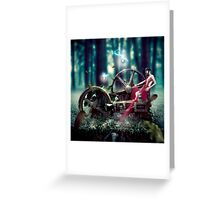 Goddess de Machina Natura  Greeting Card