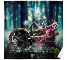 Goddess de Machina Natura  Poster