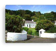 my dream home ... at Portbradden Canvas Print
