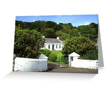 my dream home ... at Portbradden Greeting Card