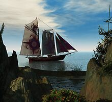 Sailing by Kathy Nairn