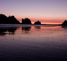 Quileute Sunset by EvaMcDermott
