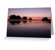 Quileute Sunset Greeting Card