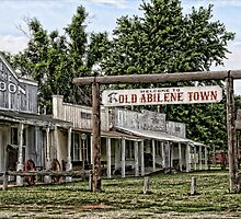 Old Abilene Town by Patricia Montgomery