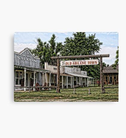 Old Abilene Town Canvas Print