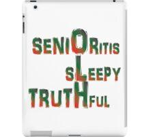 Senior  iPad Case/Skin