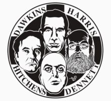 Four Horsemen: New Atheists by Tai's Tees by TAIs TEEs