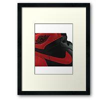 Jordan 1 OG Bred Framed Print