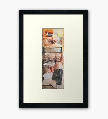 air strip Framed Print