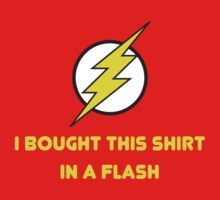 Flash Shopping Kids Tee