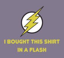 Flash Shopping Kids Tee