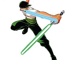 Jedi Zoro! by AquaDuelist