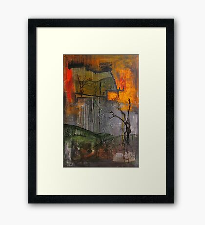 a view from afterwards Framed Print
