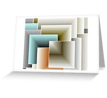 All Squared Away Greeting Card