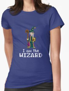 I am the Wizard Womens Fitted T-Shirt