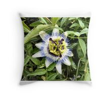 Passion Flower. Throw Pillow
