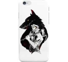 Bib Bad Wolf iPhone Case/Skin